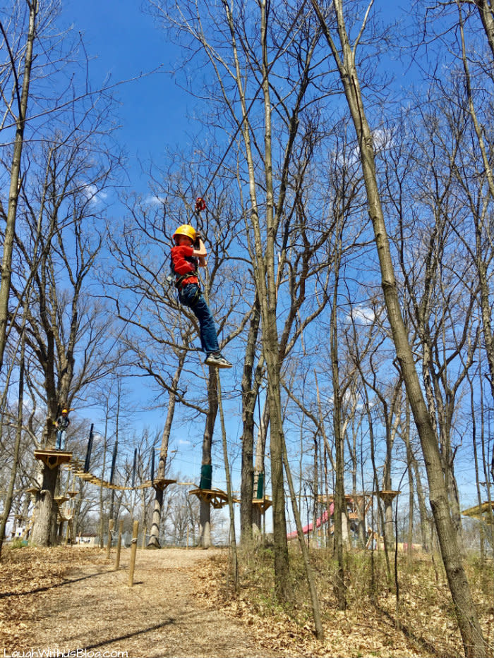 Edge Adventures Deep River zip lining