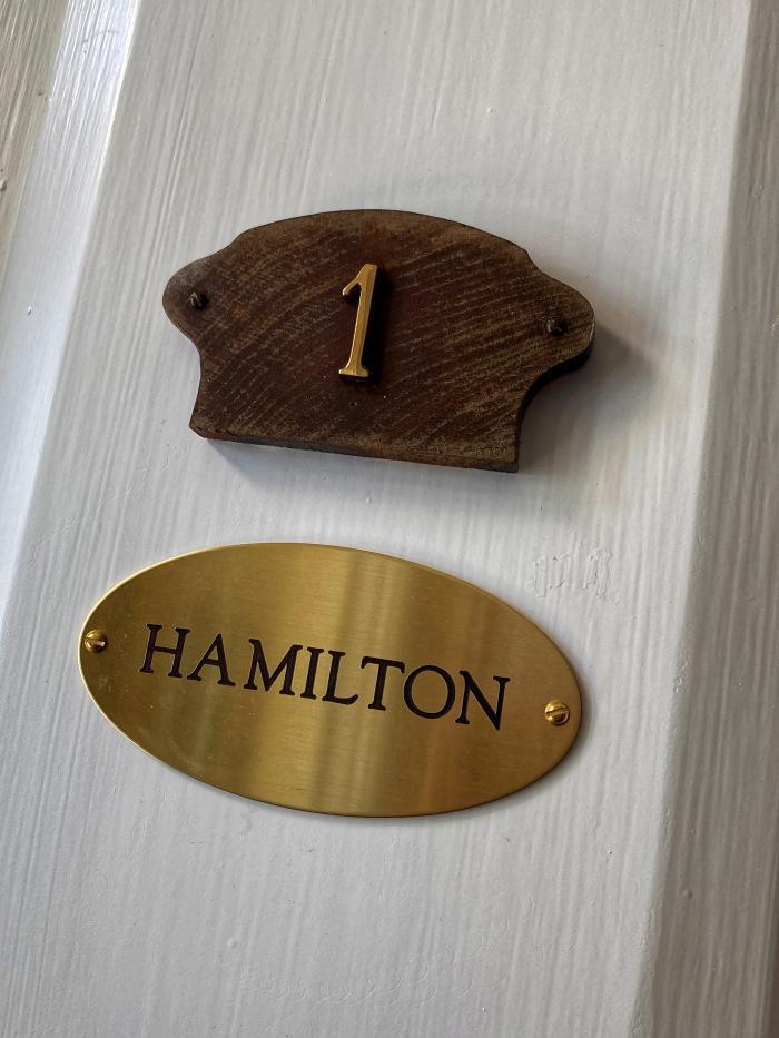 Hamilton Door Number