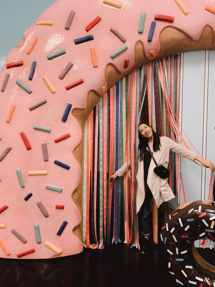 Cheat Day Land Donut Ribbon Entryway