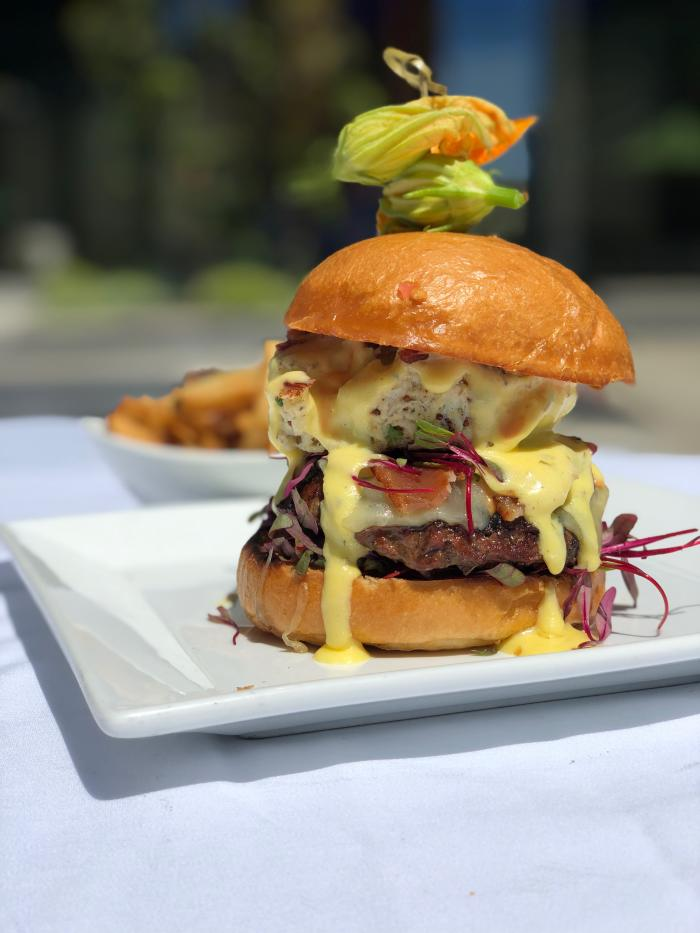 Davio's North Italian Steakhouse Surf & Turf Burger