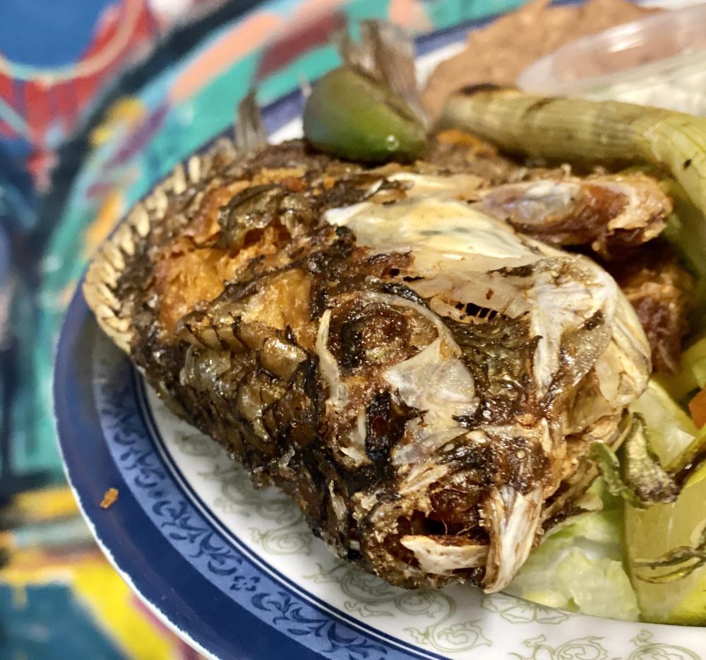 Tacos La Bamba whole fish