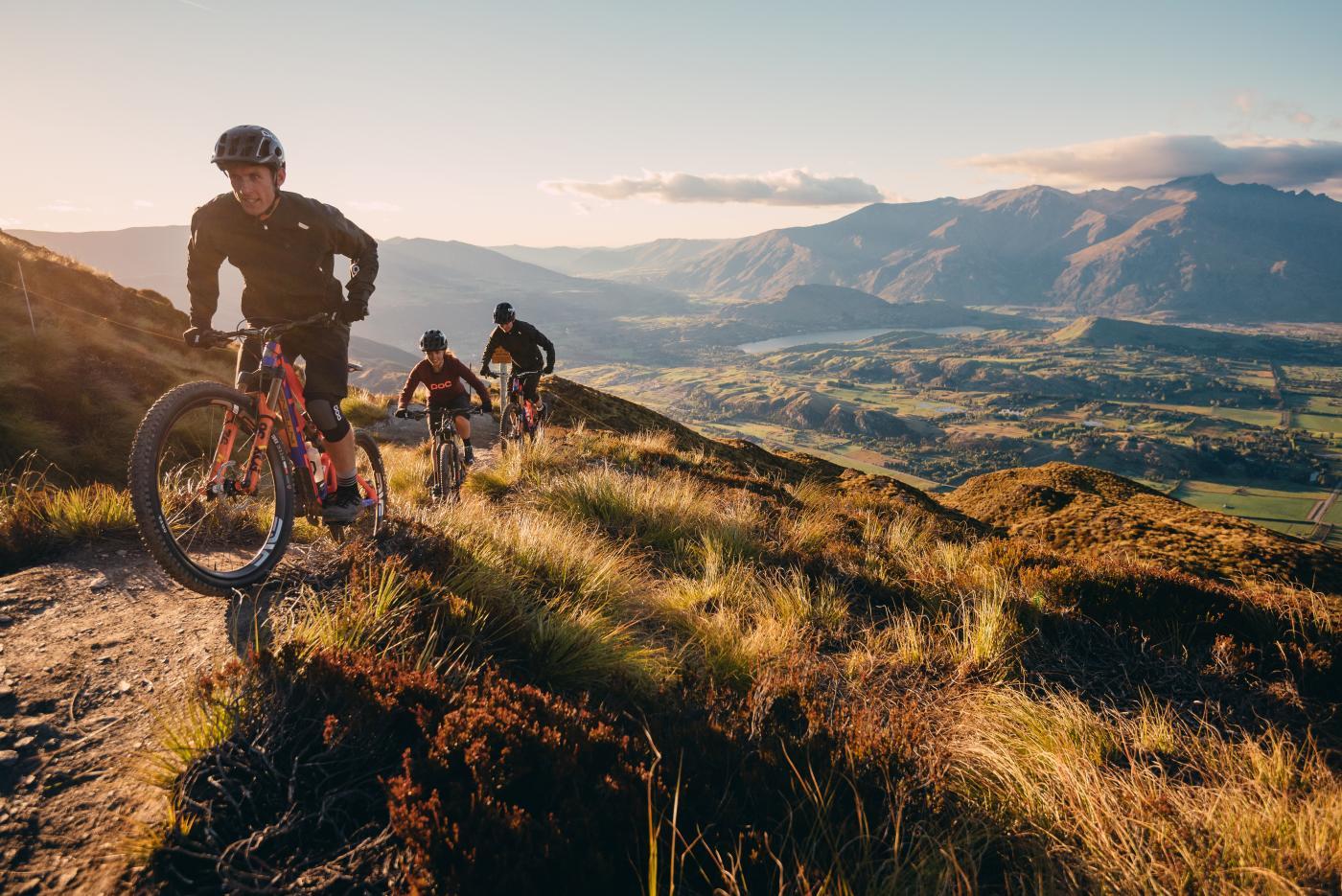 Friends Mountain Biking Coronet Peak