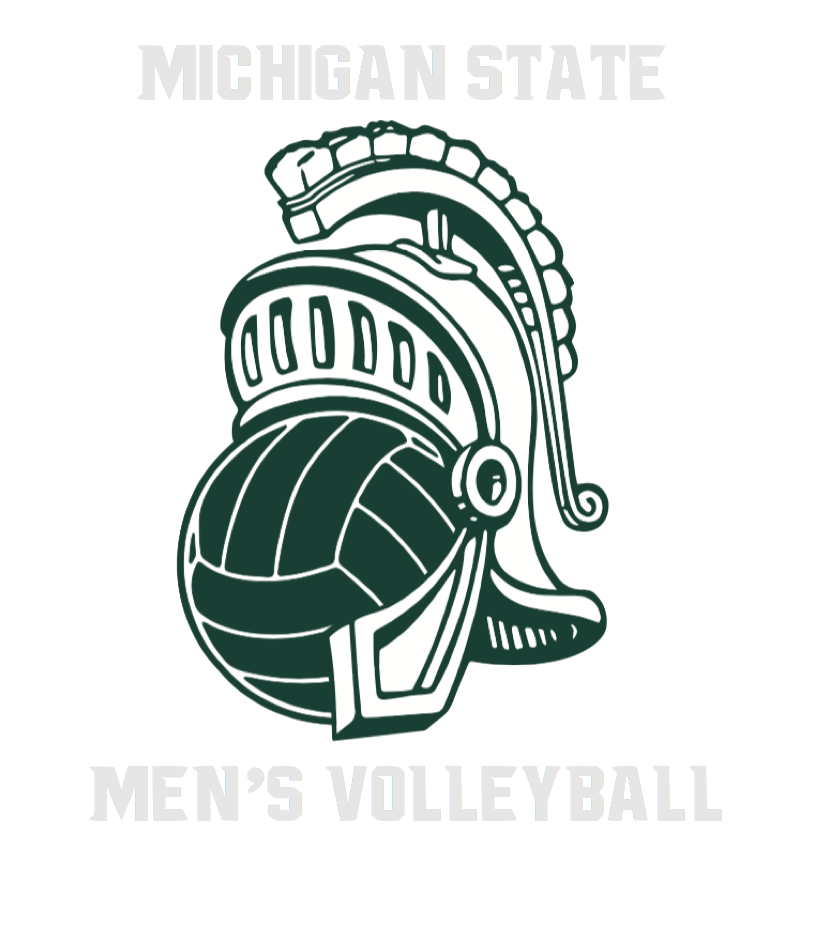MSU Men's Club Volleyball Logo