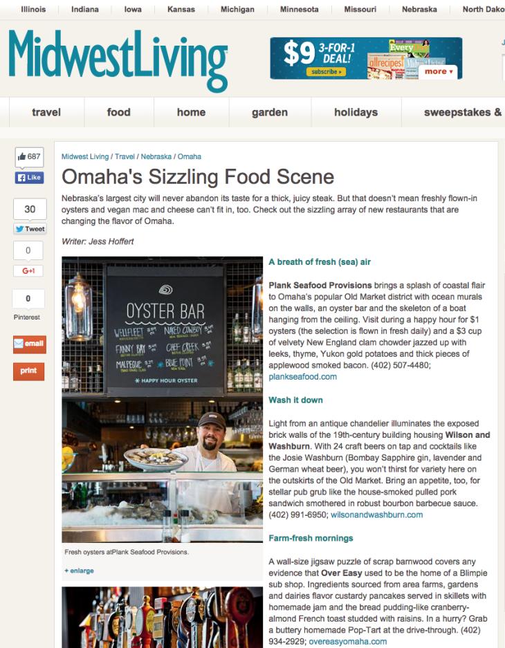 Omaha's Sizzling Food Scene