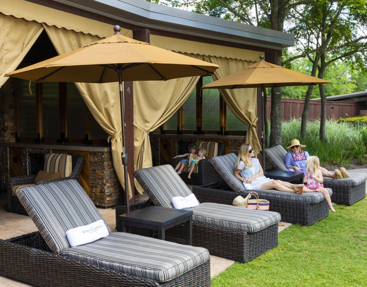 The Woodlands Resort Cabana