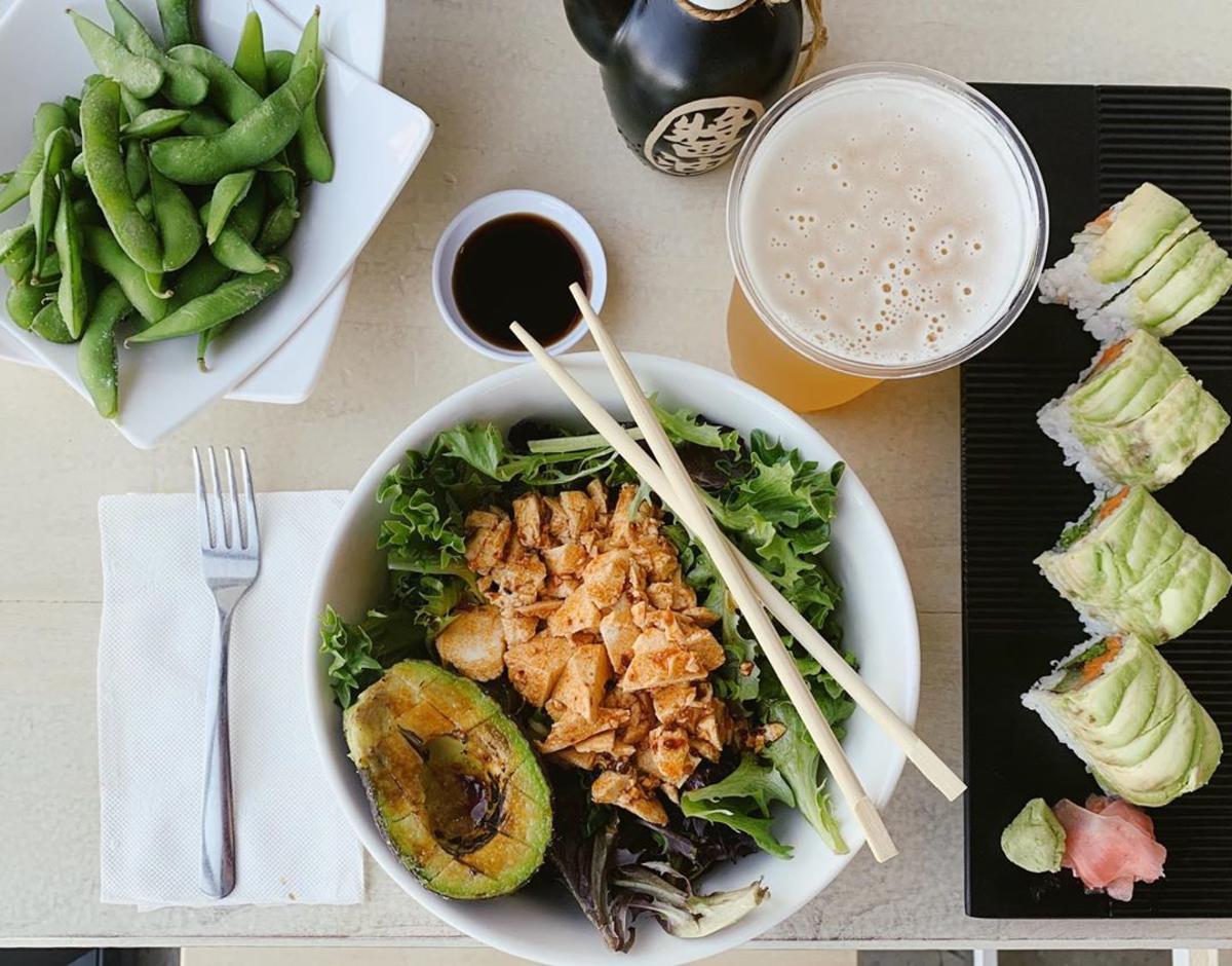 oshi poke sushi bowl vegan