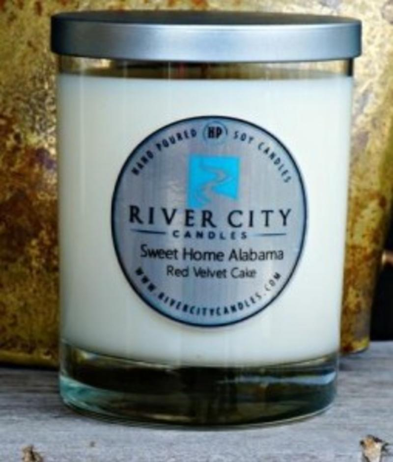 River City Candles can be found at the Little Green Store on Monte Sano Mountain