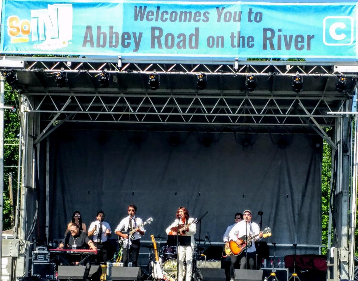 George Harry's Son with Gavin Pring performs at Abbey Road on the River