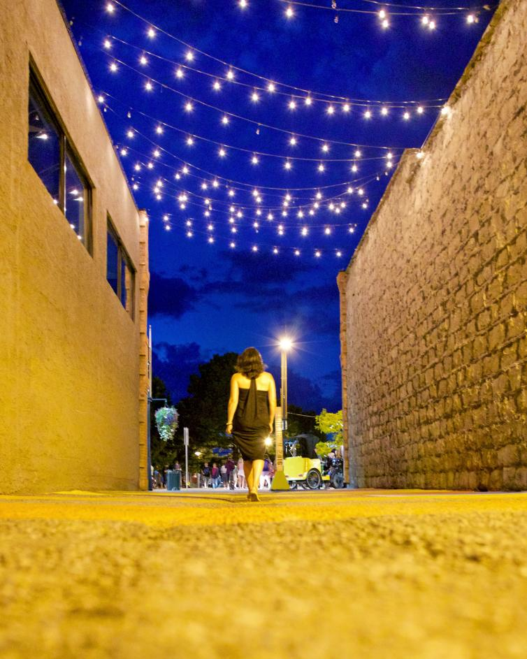 Light up your laneway.