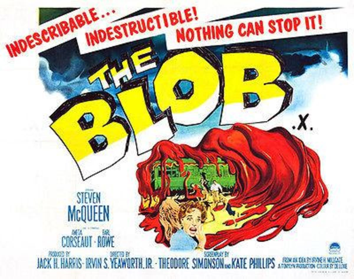 Image result for the blob movie poster