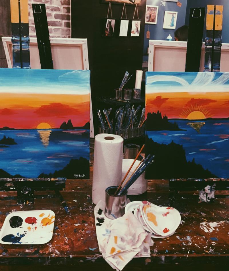 Muse Paint Bar