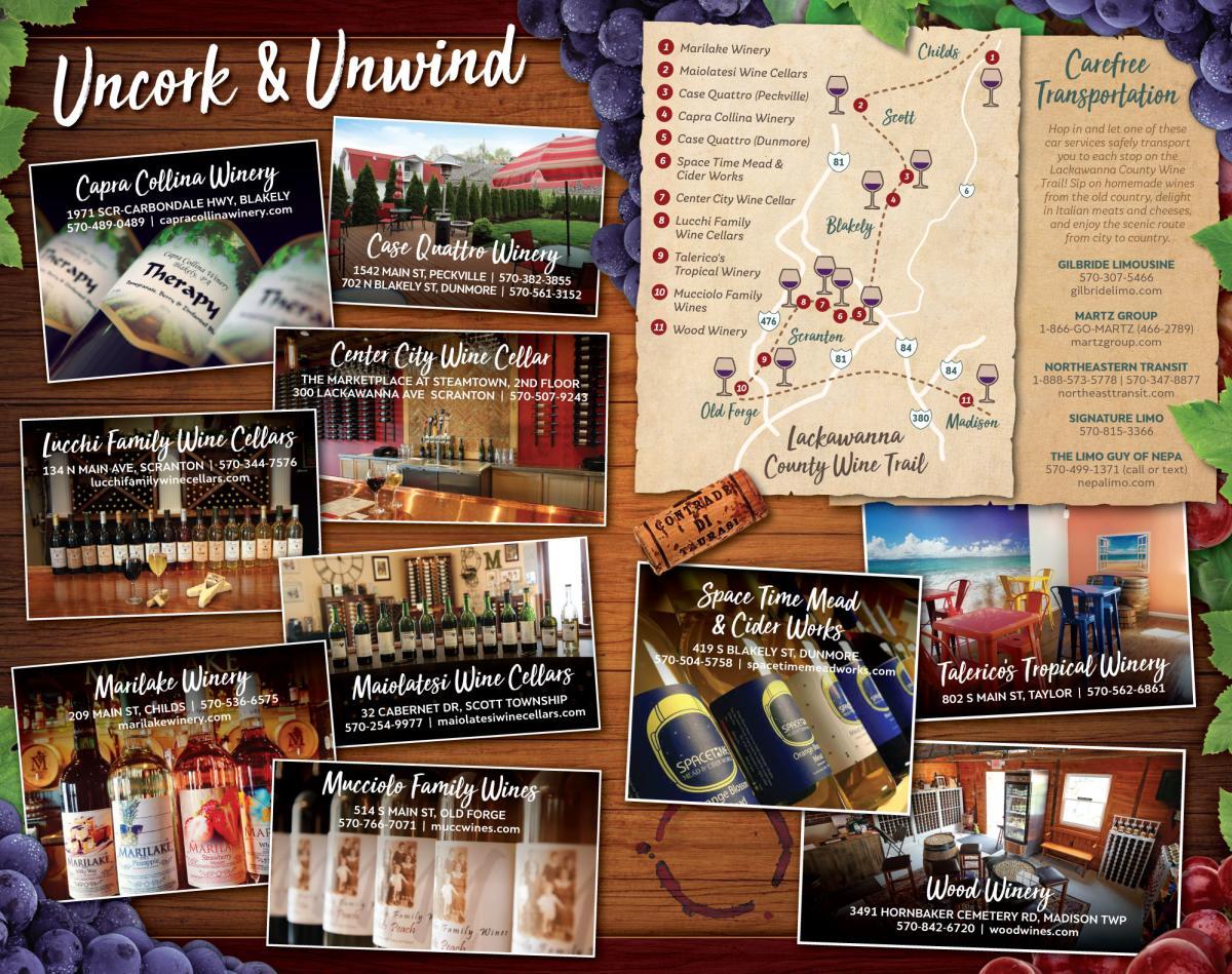 Lackawanna County Wine Trail
