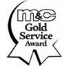 mc gold service badge