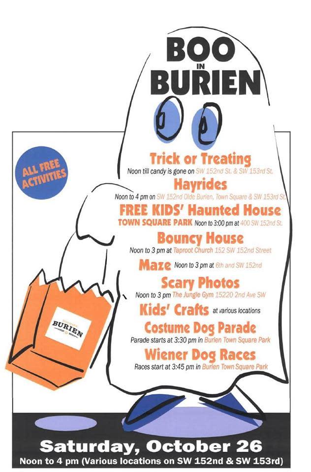 Boo in Burien