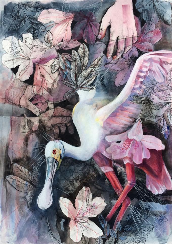 Cayla Zeek Painting