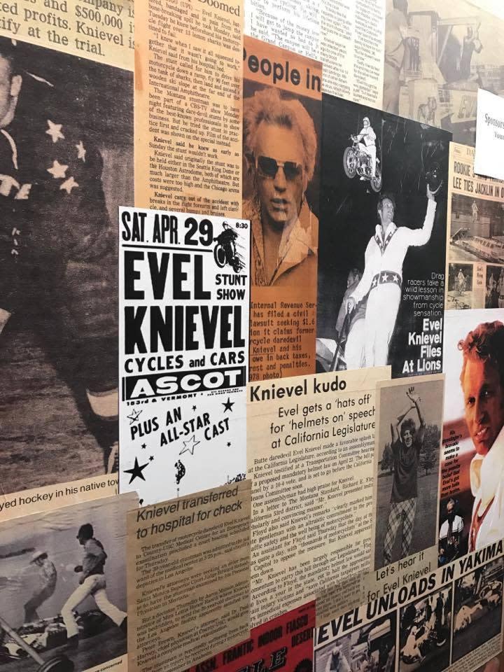 Evel Knievel - Wall