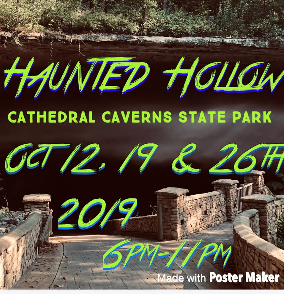 cathedral caverns haunted 2019