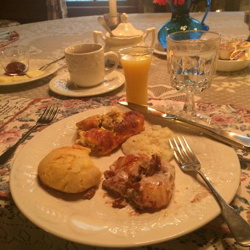 Jarrell House Breakfast