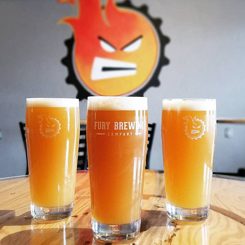 Flying Pieces - Fury Brewing Company