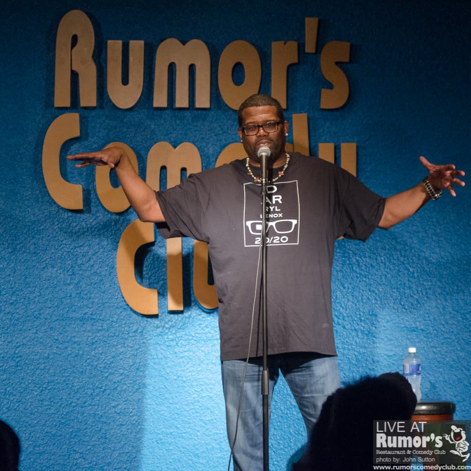Rumor's Comedy Club presents American comedian, Darryl Lenox
