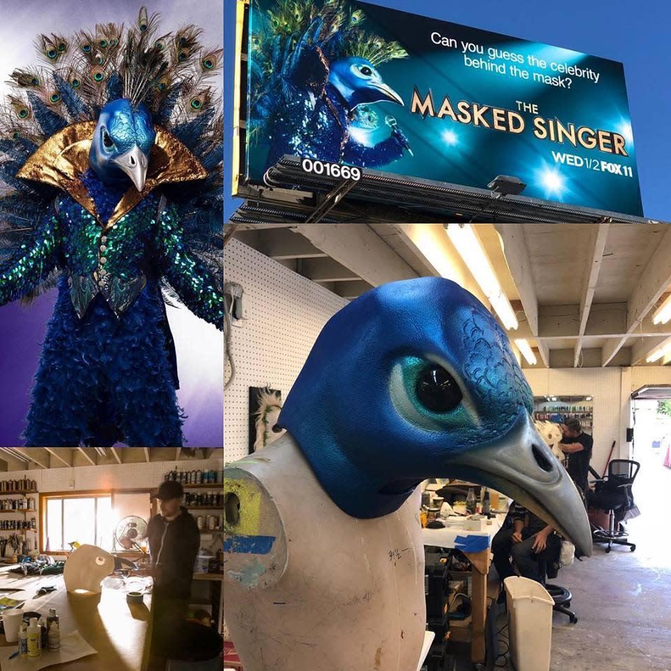 Masked Singer - Peacock