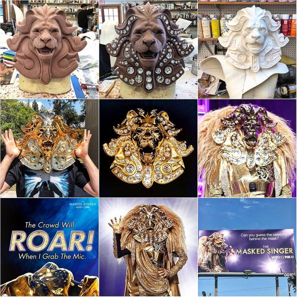 Masked Singer - Lion