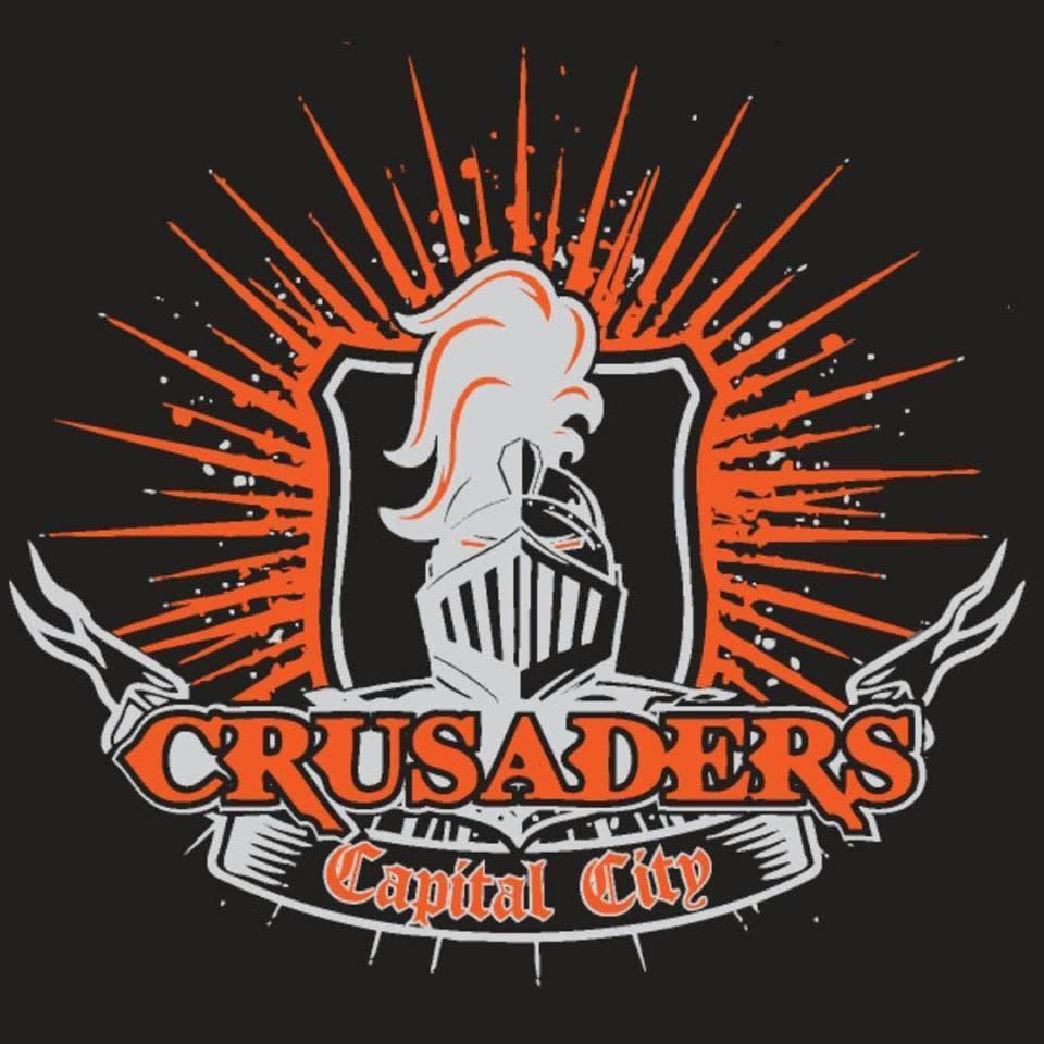 Capital city crusaders floor hockey logo