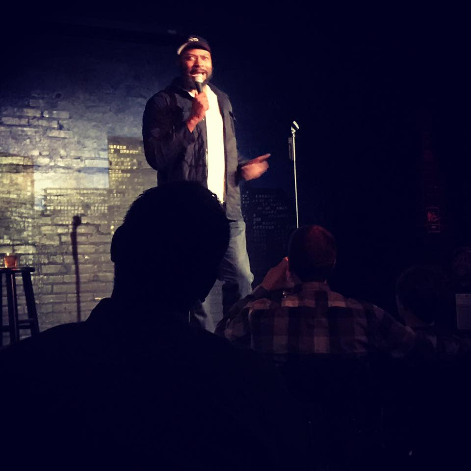 Comedian Kevin Bozeman at Rumor's