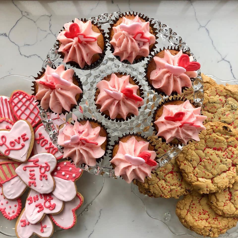 The Howard Valentine's Day Cupcakes