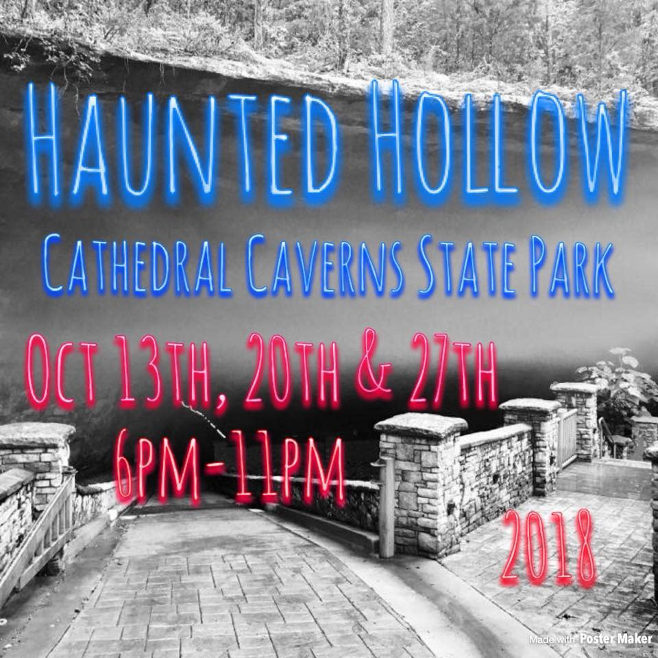 haunted cathedral caverns
