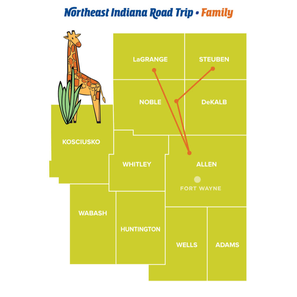 Family - Northeast Indiana Road Trips