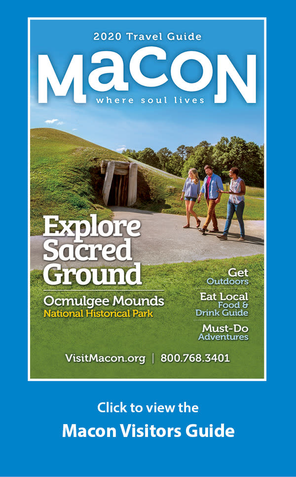 Visit Macon 2020 Flip Book Icon