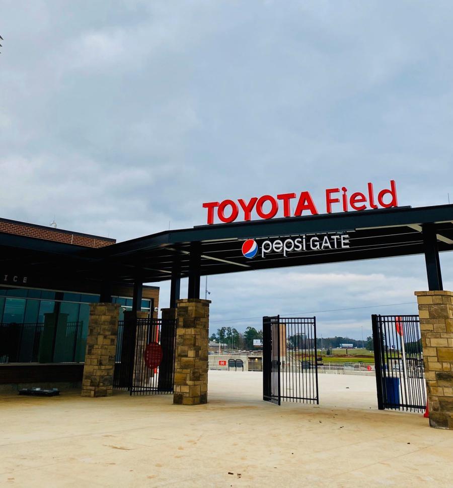 Toyota Field Rocket City