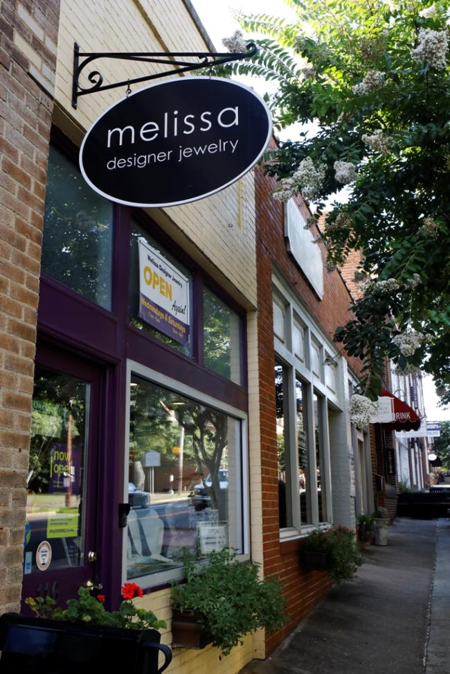 Melissa Designer Jewelry- Outside View