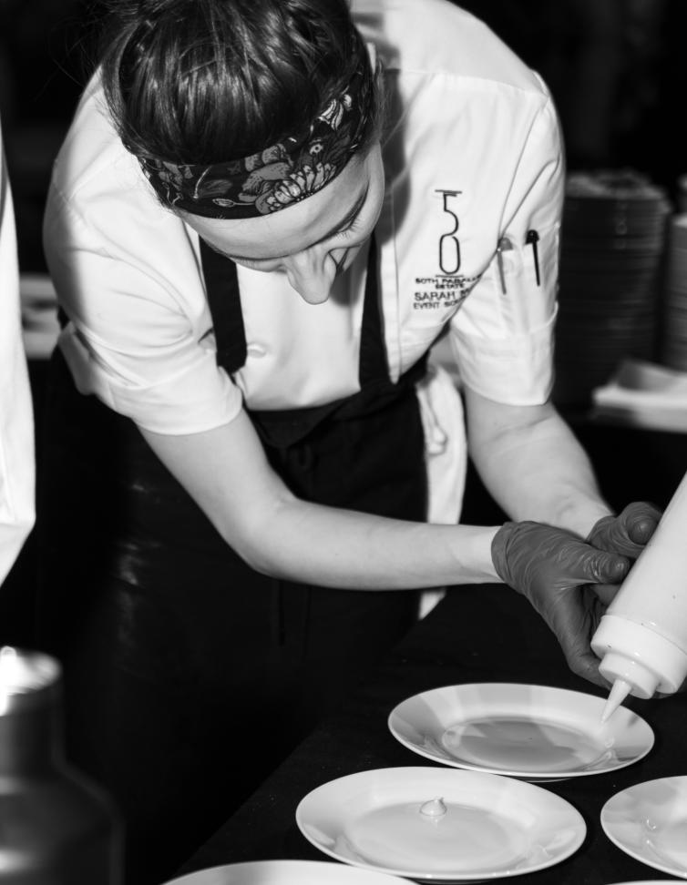 Sarah Maw - Sous Chef at BLOCK ONE Restaurant