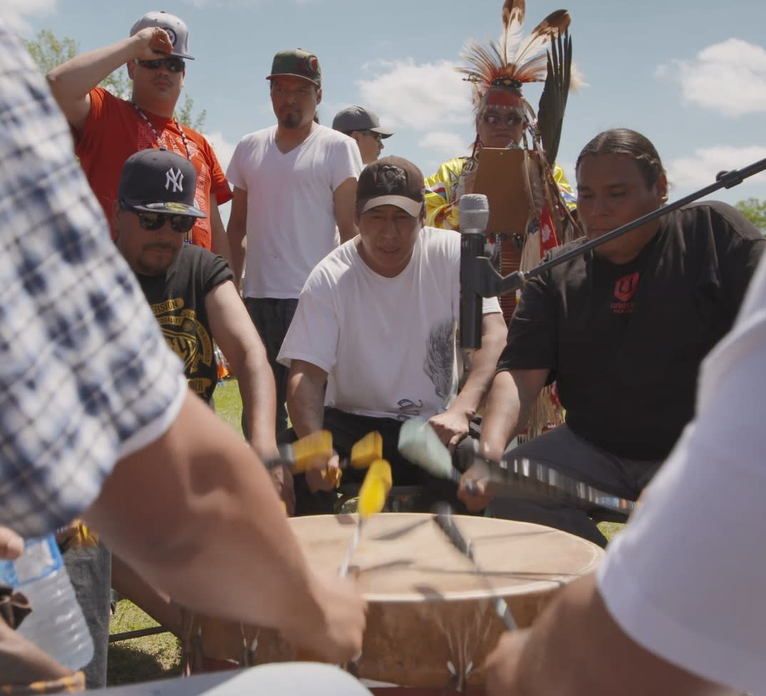 Indigenous Day Live Drumming
