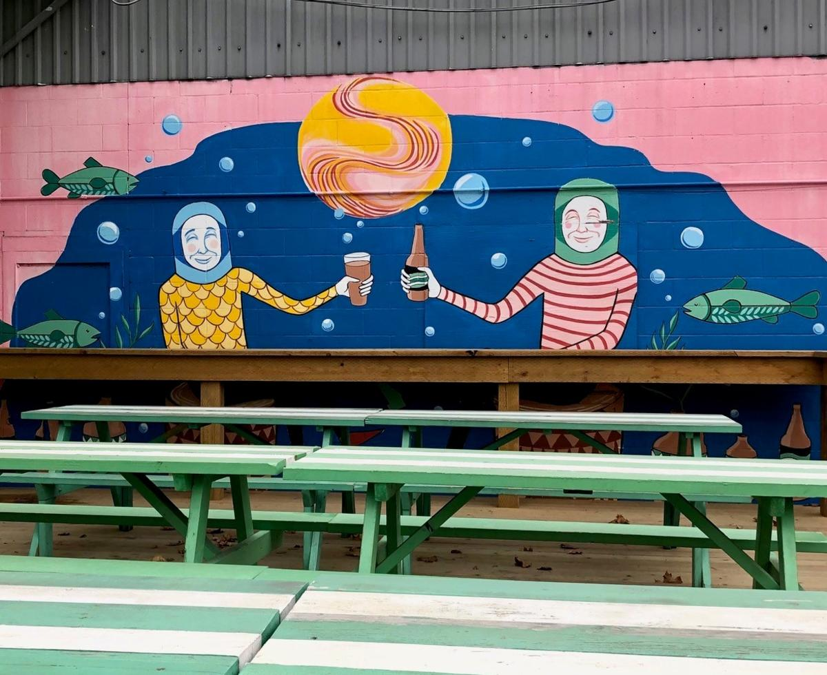 Kettle River Brewing Mural