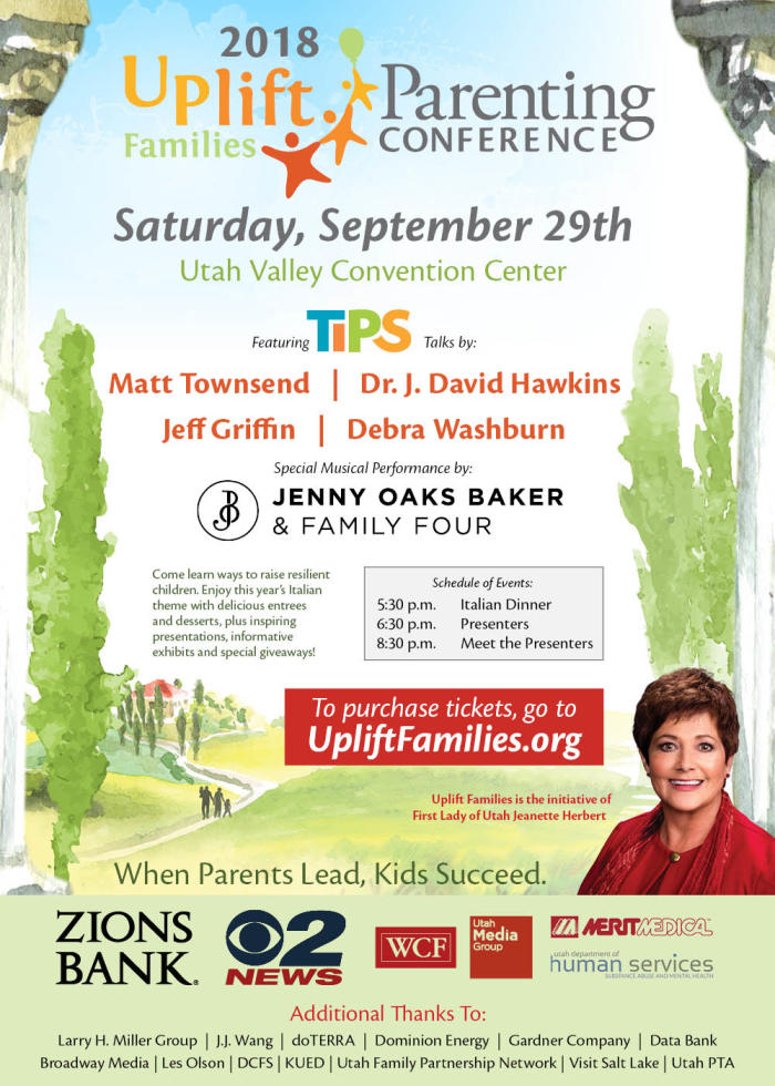 Jeannette Herbert to hold parenting conference in Utah Valley