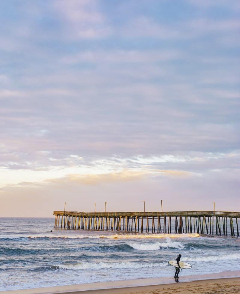 Pier Surfer Beach