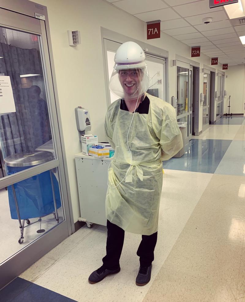 Dr. Daniel Migliaccio at UNC Hospital