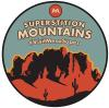 Superstition Mountains Badge - GeoTagging