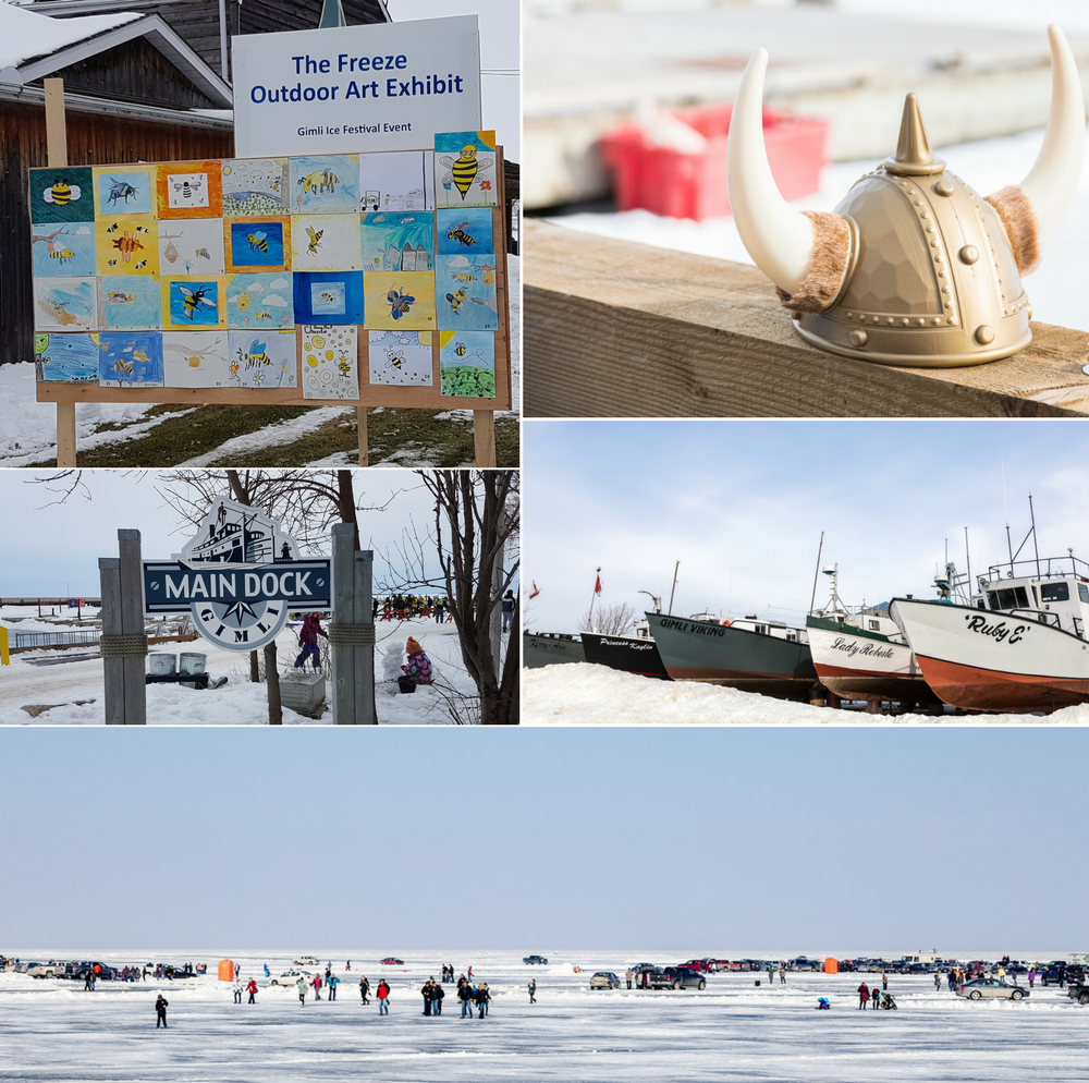 Gimli in winter_Ice Festival