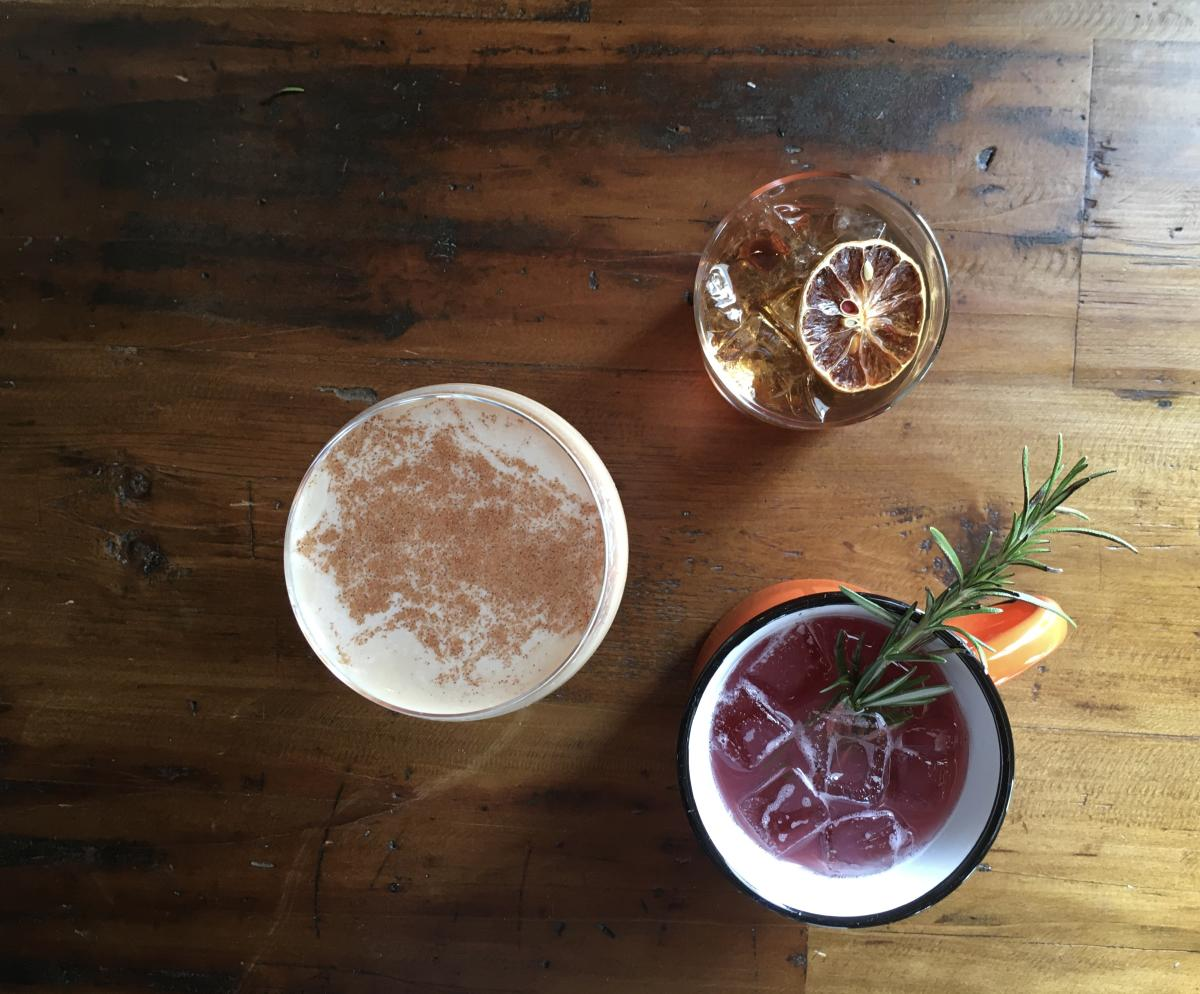 Winter Cocktails - Little Fleet, The Franklin, Mammoth