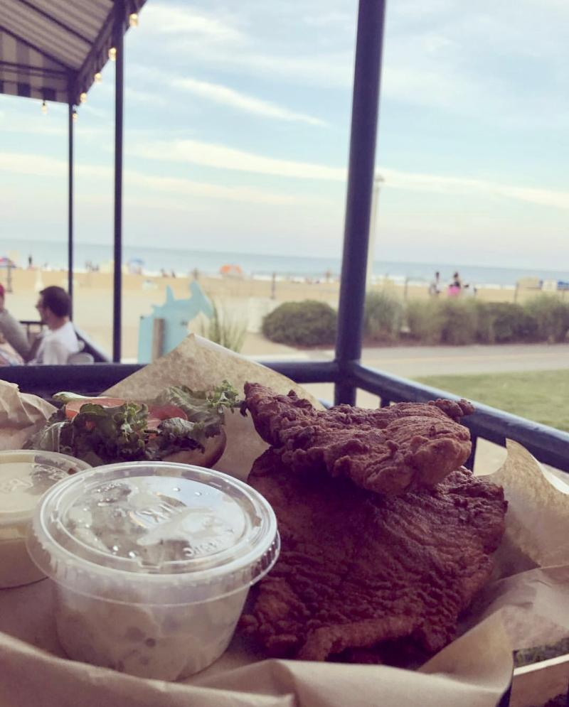 Fish Fry Platter at Ocean House Restaurant