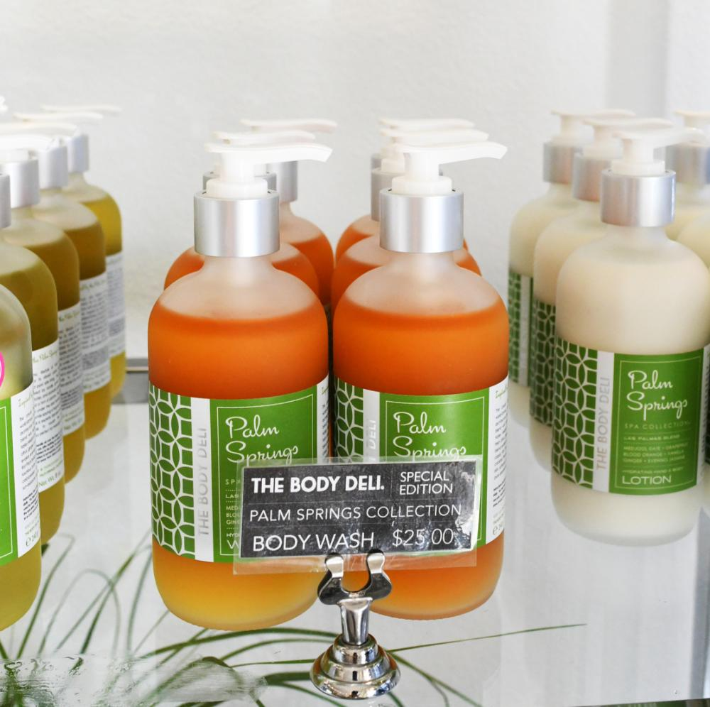 Palm Springs Spa Collection at The Body Deli