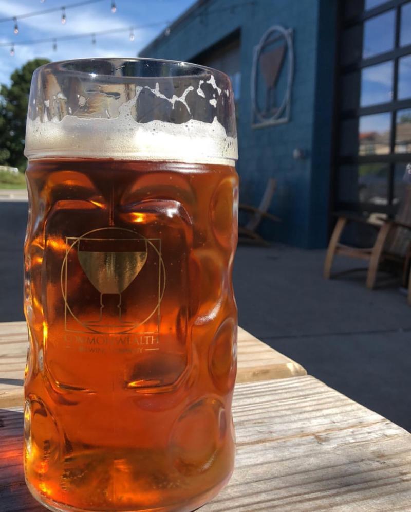 Commonwealth Brewing Octoberfest Beer
