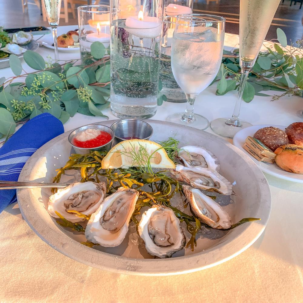oysters coast guard house