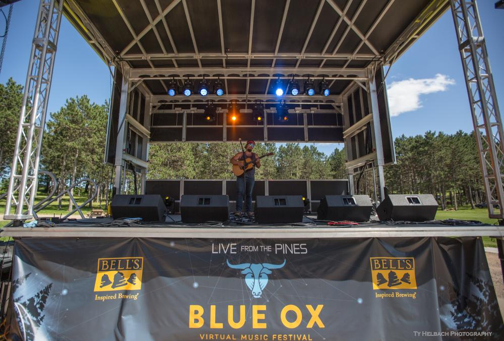 Adam Greuel Live in the Pines Blue Ox Music Festival