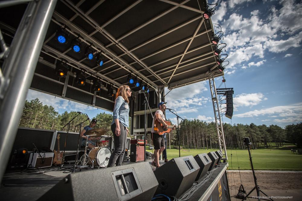 Pit Wagon Live in the Pines Blue Ox Music Festival