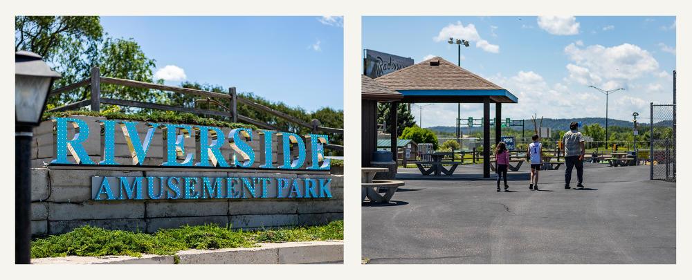 Riverside Amusement Park in La Crosse, WI